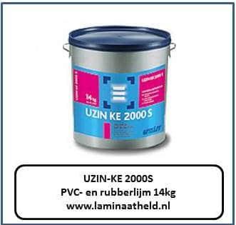 UZIN-KE 2000S PVC- en rubberlijm nu slecht € 89