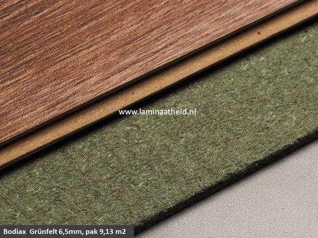 Grünfelt 6,5 mm ondervloerplaat, pak 9,13 m2