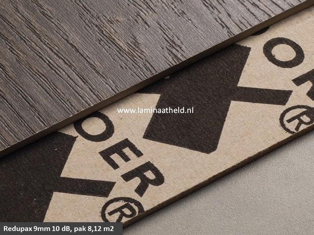 Redupax ondervloerplaten 10 dB 9 mm