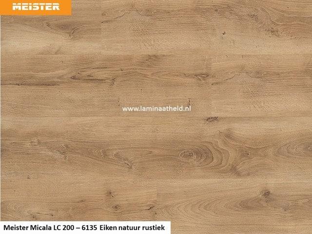 Meister Micala premium LC 200 - 6135 Eiken natuur rustiek
