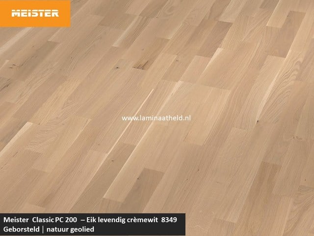 Meister Classic PC 200 - Eik levendig crèmewit 8349
