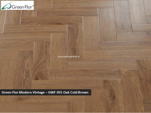 Green-Flor Modern Vintage - Oak Gold Brown GWF055