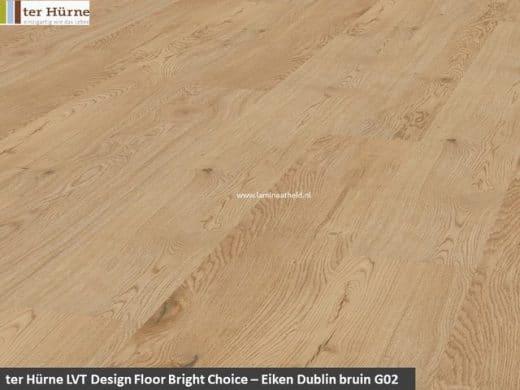 Comfort Bright Choice - Eiken Dublin bruin G02