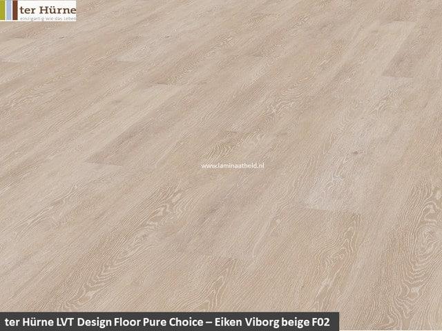 Pure Edition LVT op HDF - Eiken Borkum beige