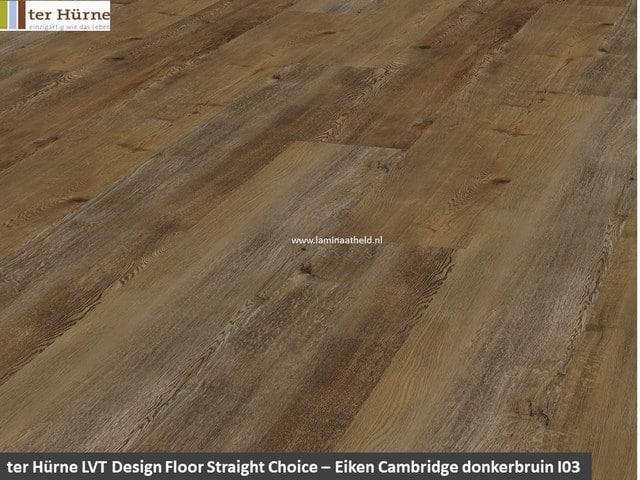 Comfort Straight Choice - Eiken Cambridge donkerbruin I03