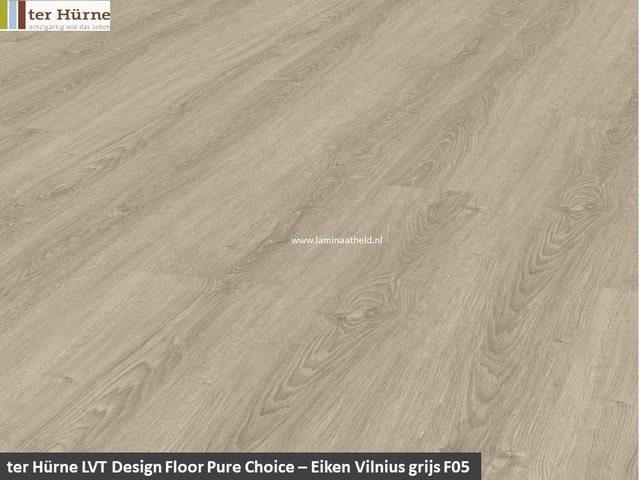 Comfort Pure Choice - Eiken Vilnius grijs F05
