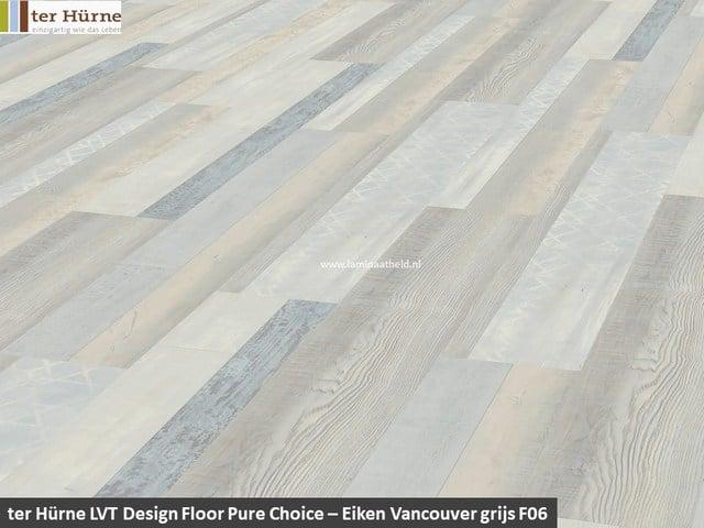 Pure Edition LVT op HDF - Eiken Vancouver grijs