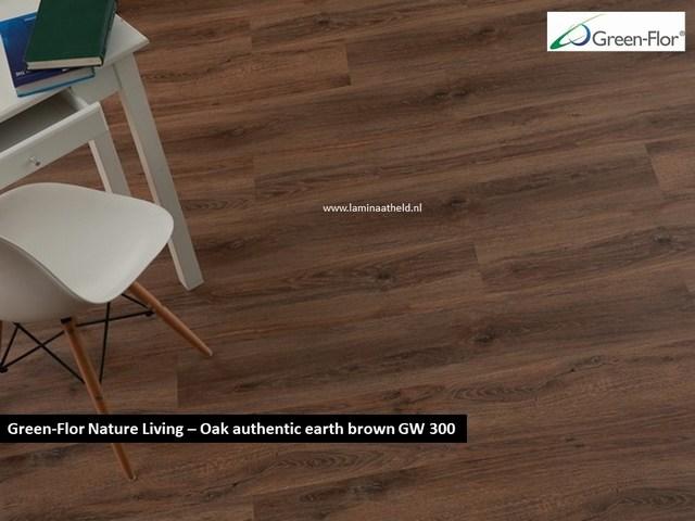 Green-Flor Nature Living - Oak authentic earth brown GW300