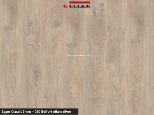 Egger Classic 7mm - 020 Belfort eiken zilver