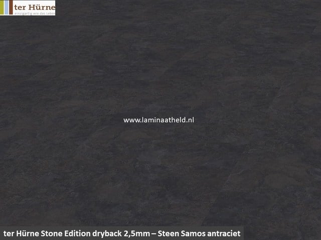 Stone Edition Pro 2,5mm dryback - Steen Samos antraciet