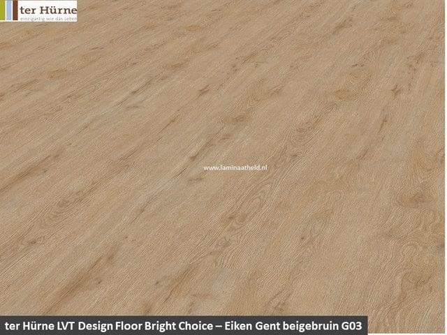 Bright Edition Pro dryback - Eiken Malaga beige bruin