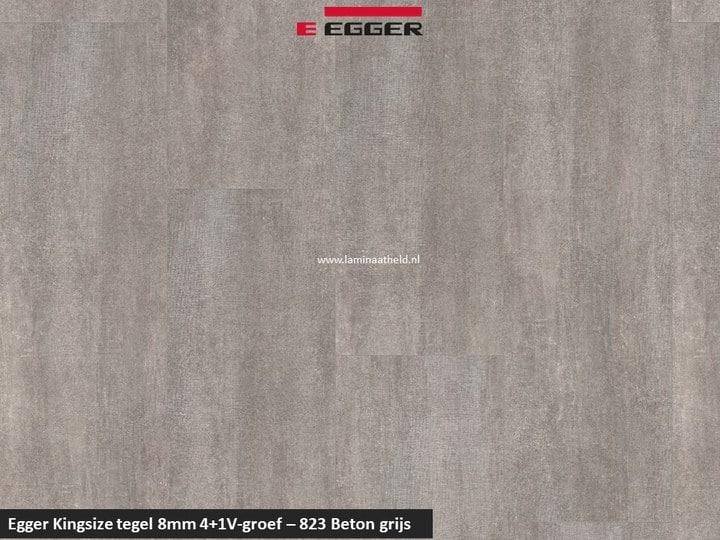 Egger Kinzgsize tegel - 823 Beton grijs 4+1 V-groef