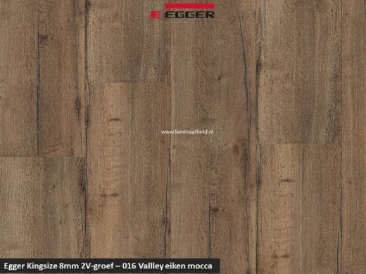 Egger Kingsize 8mm - 016 Valley eiken mocca V2