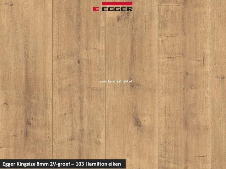 Egger Kingsize 8mm - 103 Hamilton eiken V2
