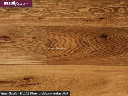 Intra Classic - ICL102 Eiken rustiek, naturel geolied