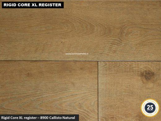Rigid Core XL Register - 8900 Callisto Natural