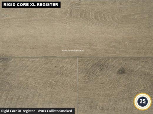 Rigid Core XL Register - 8903 Callisto Smoked