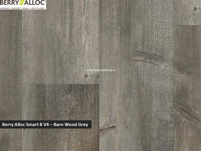 Berry Alloc Smart 8 V4 - Barn wood grey