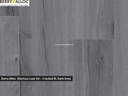 Berry Alloc Glorious Luxe V4 - Cracked XL Dark Grey