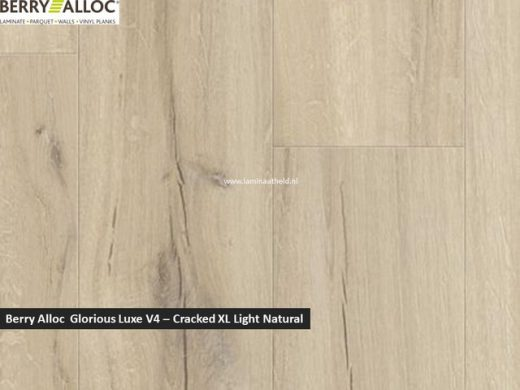 Berry Alloc Glorious Luxe V4 - Cracked XL Light natural