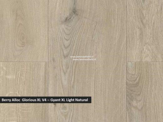 Berry Alloc Glorious XL V4 - Gyant XL light natural