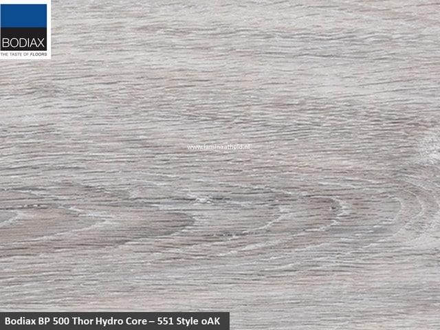Bodiax BP500 Thor Hydro-core - 551 Style Oak