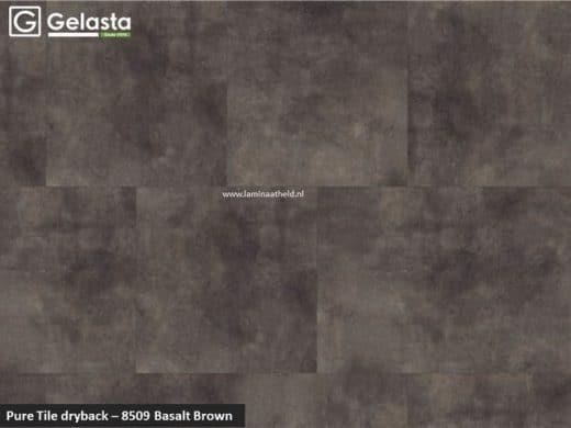 Gelasta Pure Tile - 8509 Basalt Brown