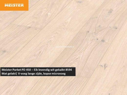 Meister PD 450 - Eik levendig wit gekalkt 8594
