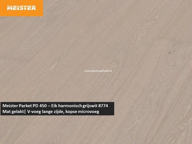 Meister PD 450 - Eik harmonisch grijswit 8774
