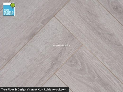 Tree Floor & Design Solid Creativ - ISV434 Roble gerookt wit
