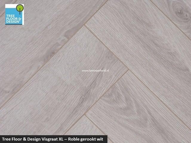 Tree Floor & Design Solid Creativ - ISV434 Roble gerookt wit