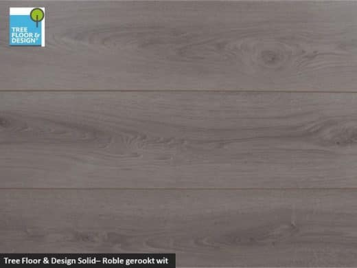 Tree Floor & Design Solid Creativ - ISC434 Roble gerookt wit