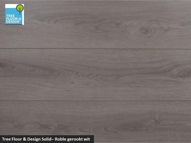 Tree Floor & Design Solid Creativ - ISC434 Roble gerookt wit