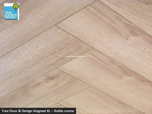 Tree Floor & Design Solid Creativ - ICV435 Roble crème