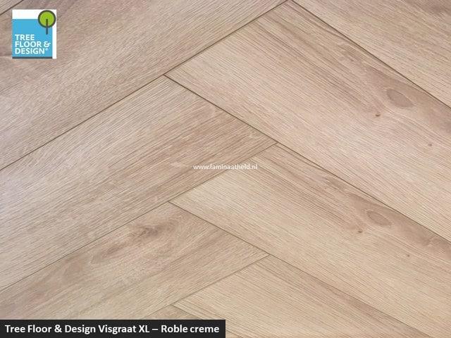 Tree Floor & Design Solid Creativ - ICV435 Roble crème