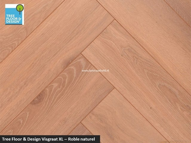 Tree Floor & Design Solid Creativ - ICV518 Roble naturel