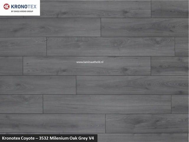 Kronotex Coyote - 3532 Millenium Oak Grey V4