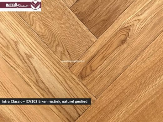 Intra Classic visgraat - ICV002 Eiken rustiek naturel geolied