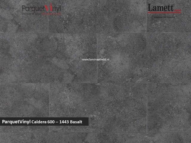 Lamett Parquetvinyl Caldera 600 - 1443 Basalt