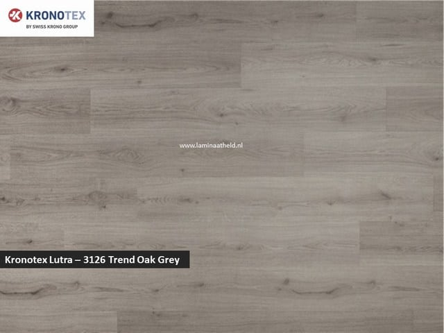 Kronotex Lutra - 3126 Trend Oak Grey