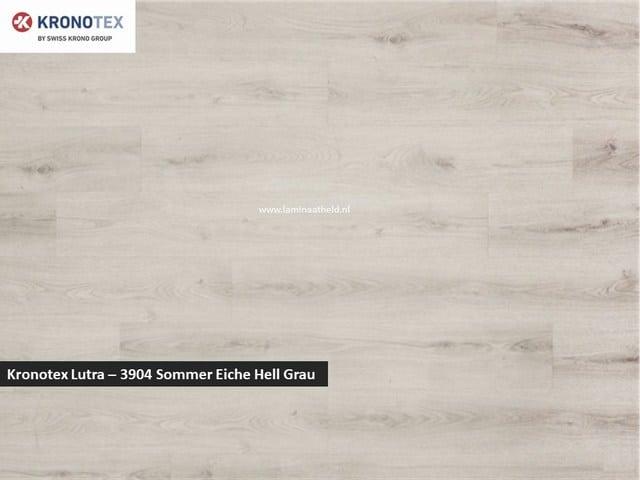 Kronotex Lutra - 3904 Sommer Eiche Hell Grau
