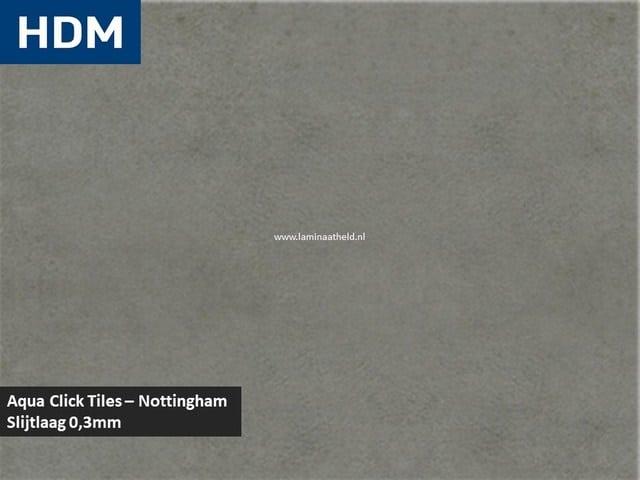 Aqua Click-Tiles - Nottingham