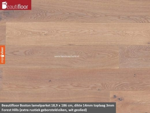 Beautifloor Boston breedstrook - Forest Hills lamel parket