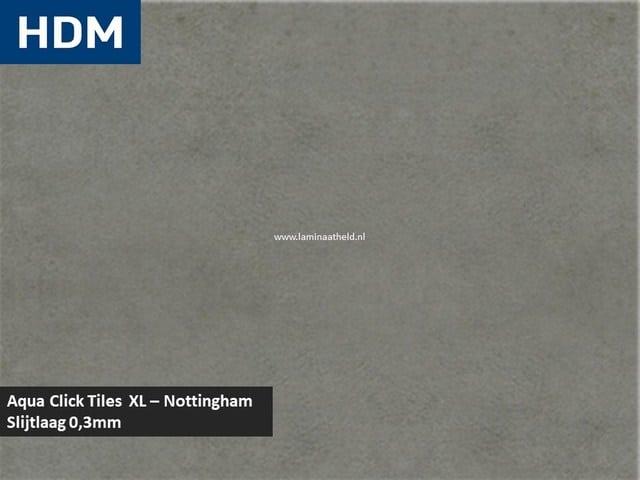 Aqua Click-Tiles XL - Nottingham