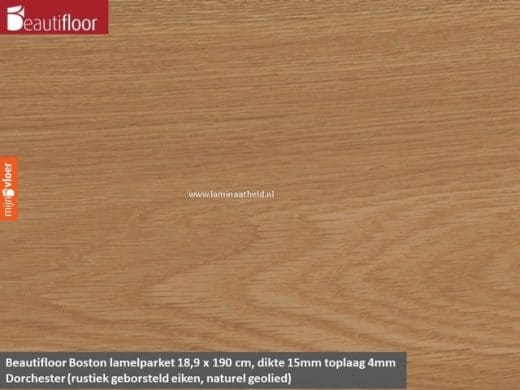 Beautifloor Boston breedstrook - Dorchester lamelparket
