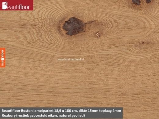 Beautifloor Boston breedstrook - Roxbury lamelparket