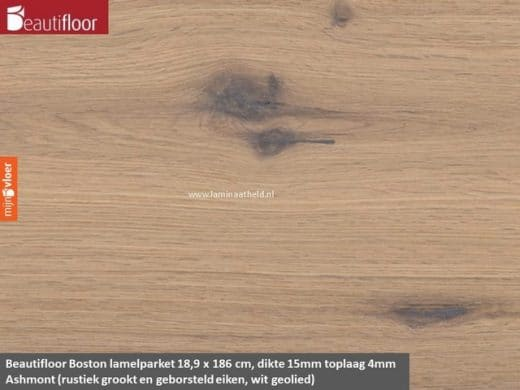 Beautifloor Boston breedstrook - Ashmont lamel parket