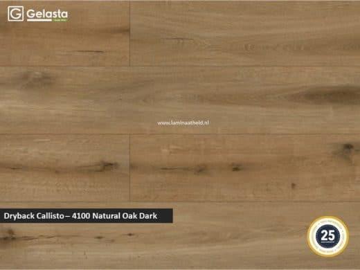 Gelasta Dryback Callisto - 4100 Natural Oak Dark