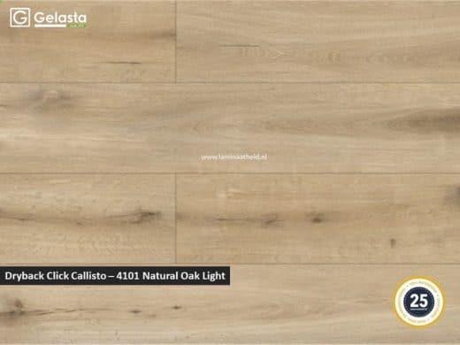 Gelasta Dryback Callisto - 4101 Natural Oak Light