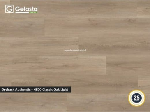 Gelasta Dryback Authentic - 4800 Classic Oak Light